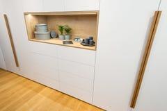 Drewniany szafa szczegół zdjęcie royalty free