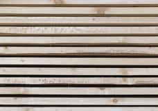 Drewniany szalunek w tartaku zdjęcia stock