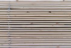 Drewniany szalunek w tartaku obraz stock