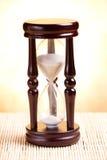 drewniany szklany stary piasek Zdjęcie Royalty Free