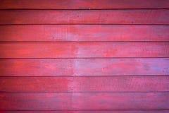 Drewniany tło, drewno stół lub ściana, stary drewno, czerwony drewno Obraz Royalty Free
