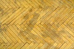 Drewniany tło stary parquet Podłoga naprawiać zdjęcie stock
