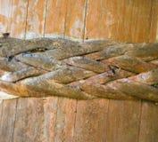 Drewniany tło z łozinowymi elementami Drewniany tło Fotografia Royalty Free