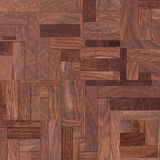 Drewniany tło, kwadrata abstrakta wzór Zdjęcia Royalty Free