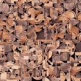 Drewniany tło, kwadrata abstrakta wzór Obraz Stock