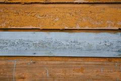 Drewniany tło Drewniany tło z kopii przestrzeni orandge kolorem Obraz Stock