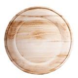 Drewniany talerz Obrazy Stock