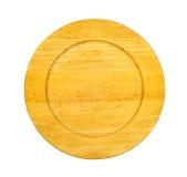 Drewniany talerz Obrazy Royalty Free