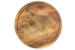 Drewniany talerz dla mięsa obraz stock