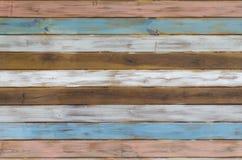 Drewniany tekstura wizerunek z horyzontalnymi liniami fotografia royalty free