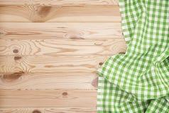 Drewniany tekstury i tkaniny tło Obraz Royalty Free