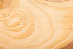 Drewniany tekstury saw cięcie na desce Zdjęcia Stock