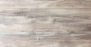 Drewniany tekstury tło, lekki dąb wietrzejący zakłopotany nieociosany drewniany z zatartą lakierniczą farbą pokazuje woodgrain te obraz stock
