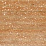 Drewniany tekstury tło w śniegu Zdjęcia Royalty Free