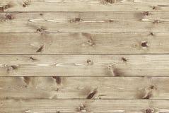 Drewniany tekstury tło naturalne sosnowe deski Obrazy Royalty Free