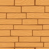 Drewniany tekstury tło wektor bezszwowy wzoru Zdjęcia Royalty Free