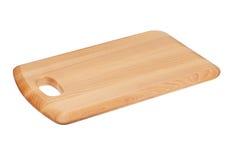 Drewniany Tnącej deski blok Obrazy Stock