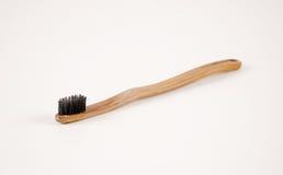 Drewniany toothbrush Zdjęcie Stock