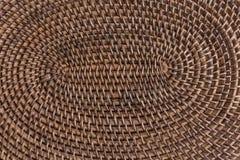 Drewniany trykotowy tło Zdjęcie Stock