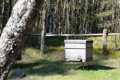 Drewniany ul w wiosce Zdjęcia Royalty Free