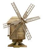 Drewniany wiatraczek Zdjęcia Royalty Free
