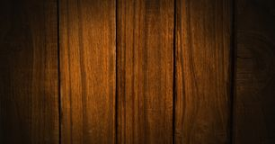 Drewniany winiety oświetlenie Fotografia Stock