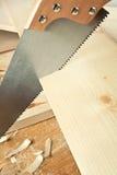 drewniany worshop Obraz Royalty Free