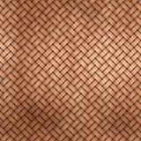 Drewniany wyplata Zdjęcie Royalty Free