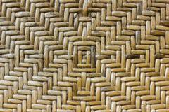 Drewniany wyplata teksturę Obrazy Stock