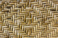 Drewniany wyplata teksturę Zdjęcie Royalty Free