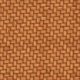 Drewniany wyplata tekstury tło abstrakcjonistycznego tła koszykowego dekoracyjnego ilustraci wzoru bezszwowy wektorowy tkactwo dr Obrazy Royalty Free