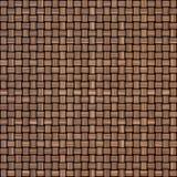 Drewniany wyplata tekstury tło abstrakcjonistycznego tła koszykowego dekoracyjnego ilustraci wzoru bezszwowy wektorowy tkactwo dr Obraz Royalty Free