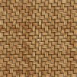 Drewniany wyplata tekstury tło abstrakcjonistycznego tła koszykowego dekoracyjnego ilustraci wzoru bezszwowy wektorowy tkactwo dr Fotografia Stock