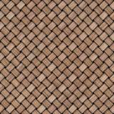 Drewniany wyplata tekstury tło abstrakcjonistycznego tła koszykowego dekoracyjnego ilustraci wzoru bezszwowy wektorowy tkactwo dr Zdjęcie Royalty Free