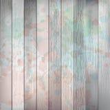 Drewniany z farbą bryzga szablon plus EPS10 Zdjęcie Stock
