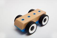 Drewniany Zabawkarski samochód Obrazy Stock
