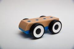 Drewniany Zabawkarski samochód Zdjęcia Royalty Free