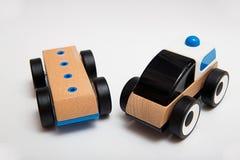 Drewniany Zabawkarski samochód Zdjęcie Royalty Free