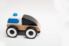 Drewniany Zabawkarski samochód Fotografia Royalty Free