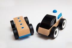 Drewniany Zabawkarski samochód Obraz Royalty Free
