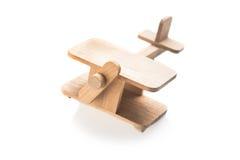 Drewniany zabawkarski samolot Zdjęcie Royalty Free