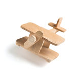 Drewniany zabawkarski samolot Obraz Stock