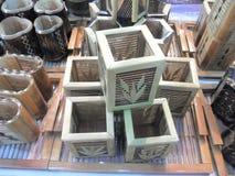 Drewniany zbiornik Zdjęcie Stock