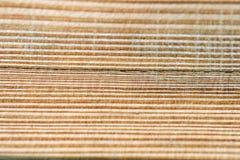 Drewniany zbożowy tło Zdjęcia Stock