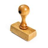 Drewniany znaczek obrazy stock