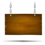 Drewniany znak 004 Zdjęcia Stock