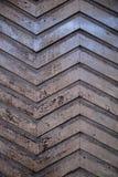 Drewniany zygzag Zdjęcie Royalty Free