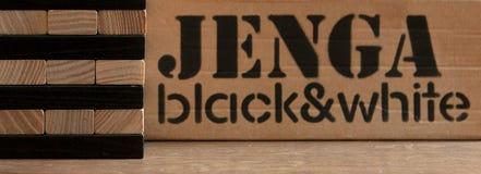 Drewnianych bloków sterty gra z kopii przestrzenią, tło Pojęcie edukacja, ryzyko, rozwój i przyrost, fotografia stock