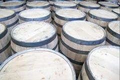 drewno barrel Zdjęcia Stock