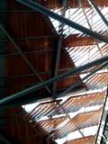 Drewno cieni dach obraz royalty free